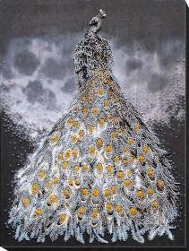 Набор для вышивки бисером на холсте Золото в серебре Абрис Арт АВ-760 - 472.00грн.