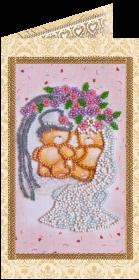 Набор - открытка для вышивки бисером С Днём Бракосочетания 5 Абрис Арт АО-113 - 68.00грн.