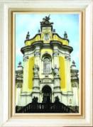 Схемы для вышивания бисером на авторской канве Собор святого Юра. Львов
