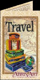 Набор-открытка для вышивки бисером Вокруг света, , 74.00грн., АО-147, Абрис Арт, Открытки, магниты