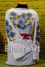 Заготовка для вышивки бисером Сорочка женская Biser-Art Сорочка жіноча SZ-2 (габардин)