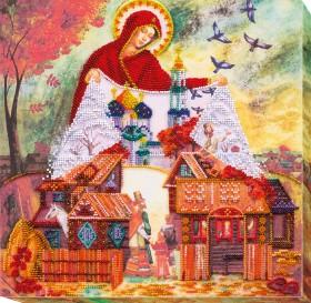 Набор для вышивания бисером Светлый праздник Покрова, , 375.00грн., АВ-569, Абрис Арт, Пейзажи