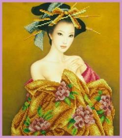 Набор для вышивки бисером Нежность Азии