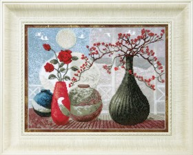 Набор для вышивки в смешанной техники Звуки керамики Cristal Art ВТ-525 - 333.00грн.