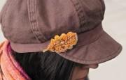 Набор для вышивания бисером украшения Дубовый листочек