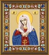 Набор для вышивки бисером Богородица Умиление
