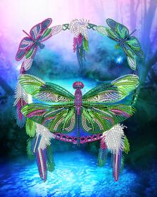 Схема для вышивки бисером на атласе Ловец снов. Мечты