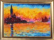 Набор для вышивки бисером Закат в Венеции