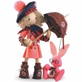 Набор для шитья куклы Шоколадница бэби