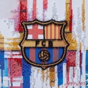 Набор-мини для вышивки бисером на натуральном художественном холсте ФК  Барселона Абрис Арт АМ-206 - 103.00грн.