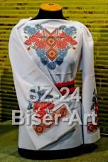 Заготовка для вышивки бисером Сорочка женская Biser-Art Сорочка жіноча SZ-24 (льон)