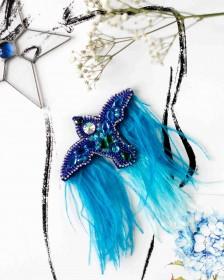 Набор для создания украшения Синяя птица Абрис Арт AD-095 - 270.00грн.