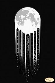 Схема вышивки бисером на атласе В свете луны