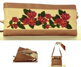 Сумка-клатч для вышивки бисером Ветка магнолии Баттерфляй (Butterfly) LB 041 - 900.00грн.