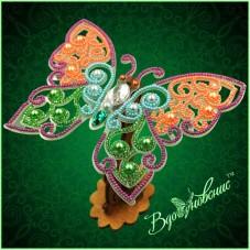 Набор для вышивки бисером Ажурная бабочка 3D 083 Вдохновение BGP-083