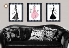 Схема для вышивки бисером на атласе  Дом моды Триптих