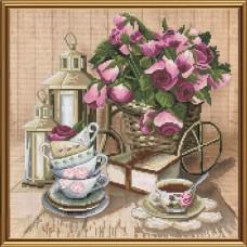 Набор для вышивки крестом Ароматный чай Новая Слобода (Нова слобода) СР3199