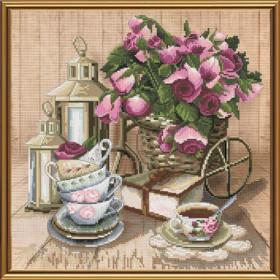 Набор для вышивки крестом Ароматный чай Новая Слобода (Нова слобода) СР3199 - 219.00грн.