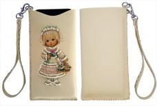 Чехол для телефона для вышивки бисером Девочка Баттерфляй (Butterfly) LB 062
