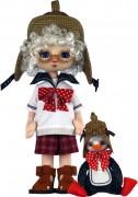 Набор для шитья куклы и мягкой игрушки Мальчик с пингвином