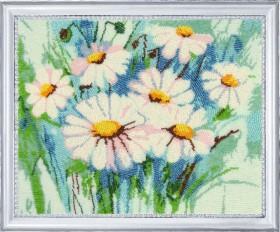 Набор для вышивки бисером Ромашки (по картине О. Дарчук) Баттерфляй (Butterfly) 281Б - 531.00грн.
