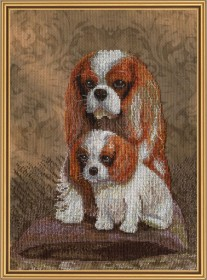 Набор для вышивки на канве нитками Мамин любимчик, , 211.00грн., СВ3095, Новая Слобода (Нова слобода), Собака символ 2018 года своими руками