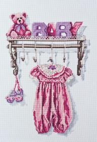 Набор для вышивки крестом Малыш. Девочка Абрис Арт АН-052 - 259.00грн.