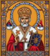 Набор для вышивки крестом Святой Николай