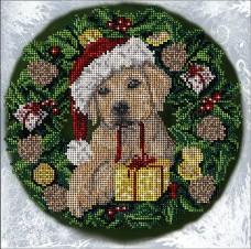 Набор для вышивания бисером Рождественские истории 24Б Краса и творчiсть 40917