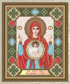 Набор для выкладки алмазной мозаикой Богородица Нерушимая стена Art Solo АТ5017 - 248.00грн.