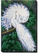 Набор для вышивки бисером Белоснежный символ счастья
