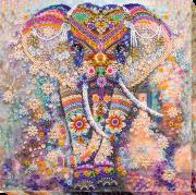 Набор для вышивки бисером на холсте Чудо Индии
