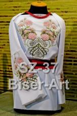 Заготовка для вышивки бисером Сорочка женская Biser-Art Сорочка жіноча SZ-37 (габардин)