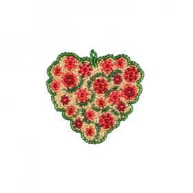 Набор для вышивки подвеса Цветочная любовь