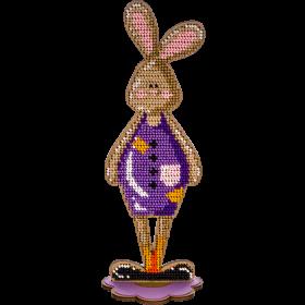 Набор для вышивки бисером по дереву Кролик Мальчик Волшебная страна FLK-252 - 187.00грн.