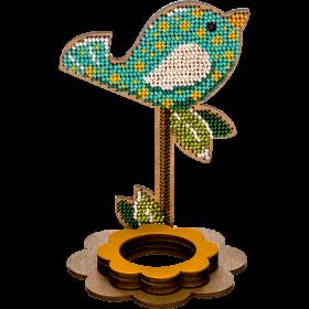 Набор для вышивки бисером по дереву Птичка Волшебная страна FLK-269 - 144.00грн.