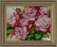 Набор для вышивки бисером Цветочное сияние Краса и творчiсть 10113