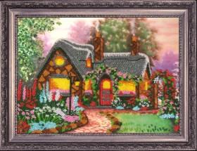 Рисунок на атласе для вышивки бисером Домик мечты Баттерфляй (Butterfly) СА312 - 66.00грн.