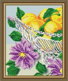 Набор для выкладки алмазной мозаикой В хрустале. Абрикосы Диптих 1, , 280.00грн., АТ5551, Art Solo, Картины из нескольких частей