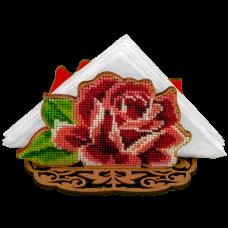Набор для вышивки бисером по дереву Роза Волшебная страна FLK-205