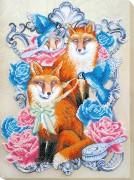 Набор для вышивки бисером Лисий праздник
