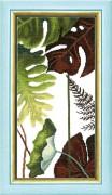 Набор для вышивания крестом Crystal Art Триптих Сквозь жаркие тропики