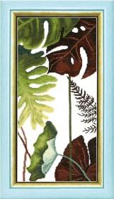 Набор для вышивания крестом Crystal Art Триптих Сквозь жаркие тропики, , 195.00грн., ВТ-167, Cristal Art, Картины из нескольких частей