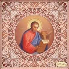 Схема вышивки бисером на атласе Святой Апостол и Евангелист Лука Tela Artis (Тэла Артис) ТИС-012-1