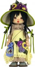 Набор для шитья куклы Девочка Голландия Zoosapiens К1079Z