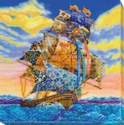 Набор для вышивки бисером На всех парусах