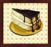 Схемы для вышивания бисером на авторской канве Торт