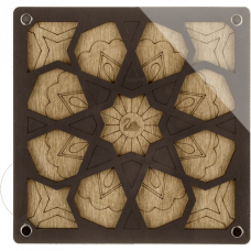 Органайзер для бисера с крышкой Волшебная страна FLZB-037