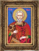 Набор для вышивки бисером иконы Святой Мина