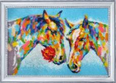 Набор для вышивки бисером Радужное свидание Баттерфляй (Butterfly) 637Б